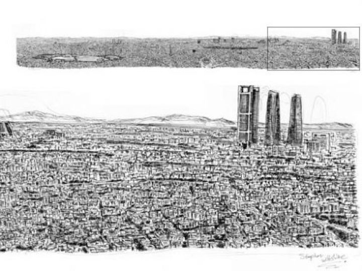 Otistik ressamın gözüyle şehirler 1