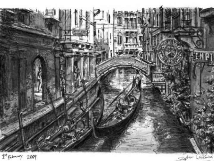 Otistik ressamın gözüyle şehirler 10