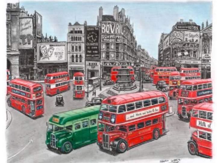 Otistik ressamın gözüyle şehirler 13