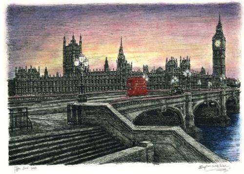 Otistik ressamın gözüyle şehirler 16