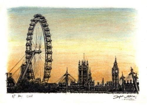 Otistik ressamın gözüyle şehirler 18