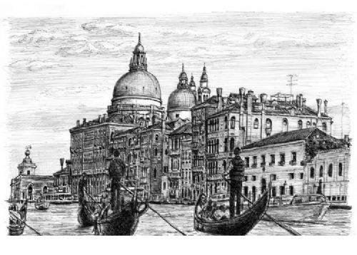 Otistik ressamın gözüyle şehirler 19