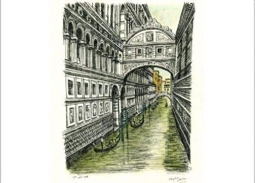 Otistik ressamın gözüyle şehirler 20