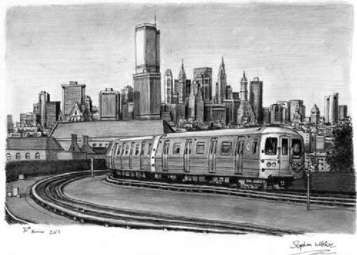 Otistik ressamın gözüyle şehirler 22