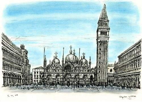 Otistik ressamın gözüyle şehirler 23