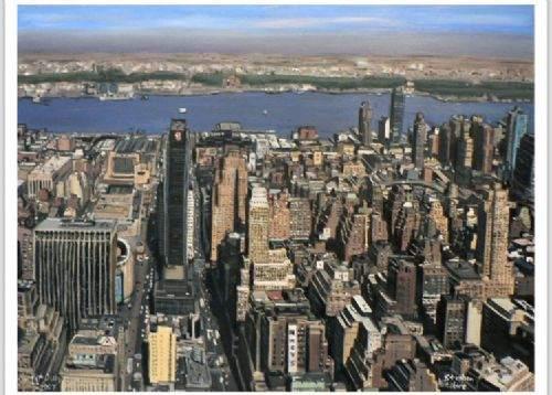 Otistik ressamın gözüyle şehirler 28