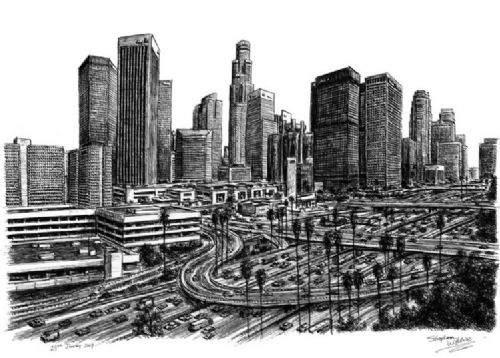 Otistik ressamın gözüyle şehirler 30
