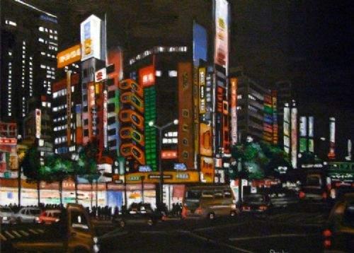 Otistik ressamın gözüyle şehirler 31