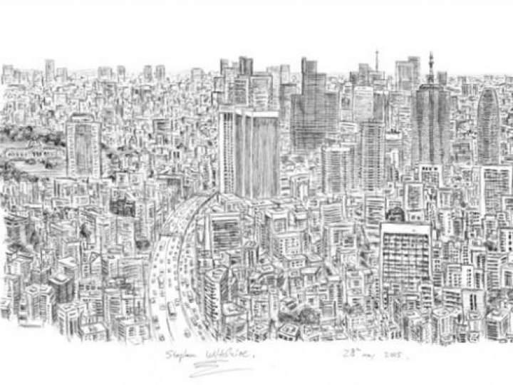 Otistik ressamın gözüyle şehirler 4