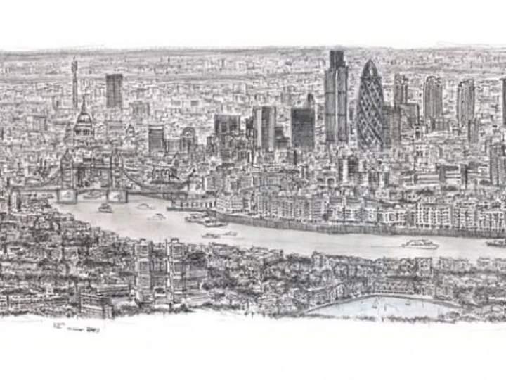 Otistik ressamın gözüyle şehirler 5