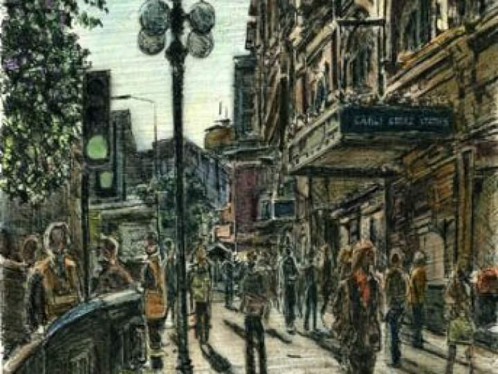 Otistik ressamın gözüyle şehirler 7