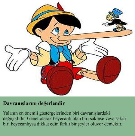 Yalanı Yakalamanın 10 Yöntemi 3