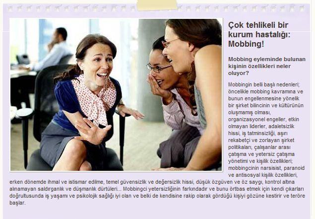 Tüm Yönleriyle Psikolojik Taciz (Mobing) 8