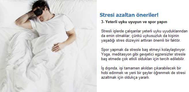 Stresi Azaltan Pratik Önlemler 6