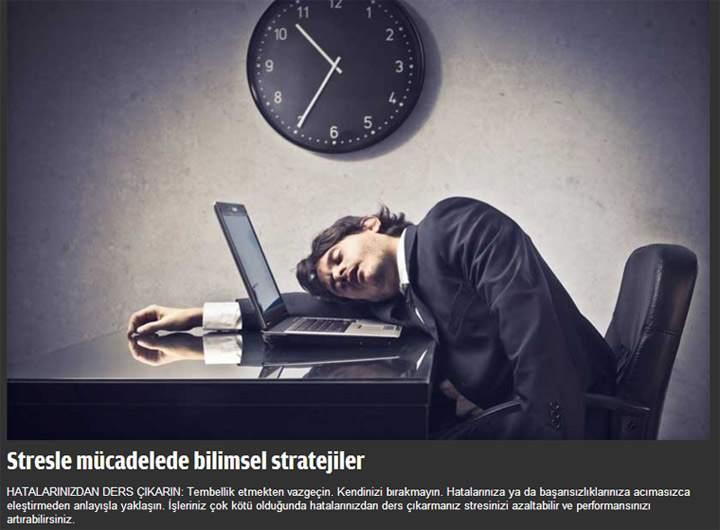 Stresle Başa Çıkmanın Bilimsel Yolu - FOTO Galeri 1