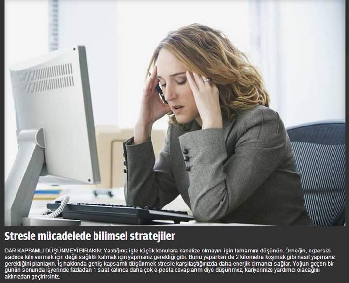 Stresle Başa Çıkmanın Bilimsel Yolu - FOTO Galeri 2
