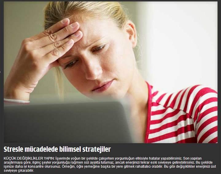 Stresle Başa Çıkmanın Bilimsel Yolu - FOTO Galeri 4