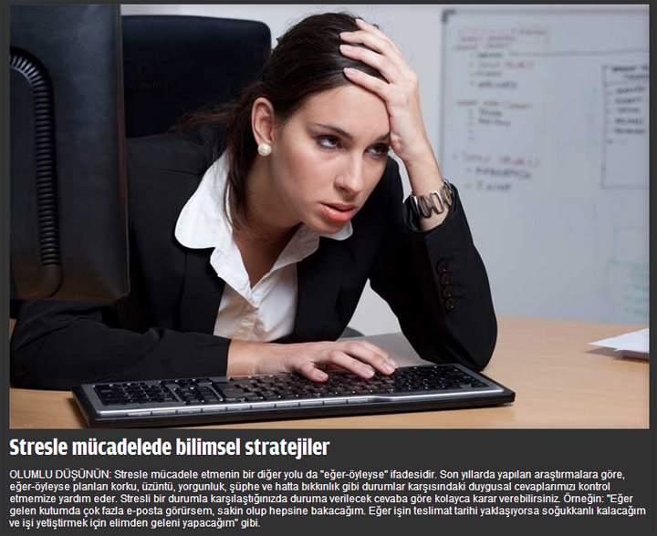 Stresle Başa Çıkmanın Bilimsel Yolu - FOTO Galeri 6