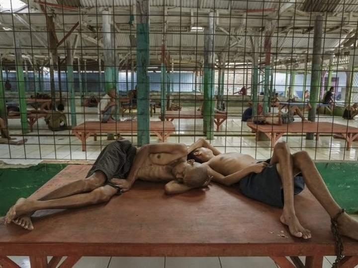 Endonezya Akıl Hastanesinden Şok Görüntüler 1