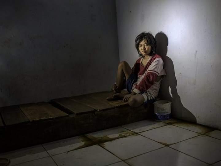 Endonezya Akıl Hastanesinden Şok Görüntüler 12