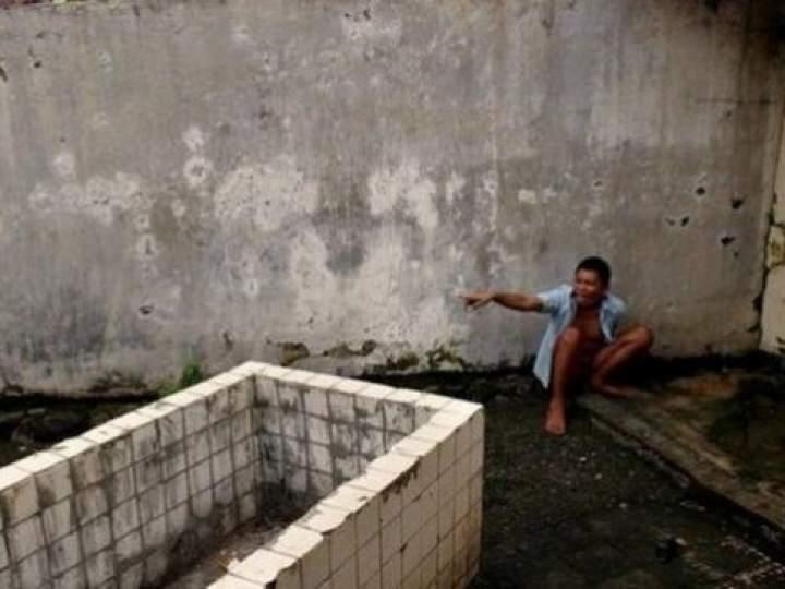 Endonezya Akıl Hastanesinden Şok Görüntüler 24