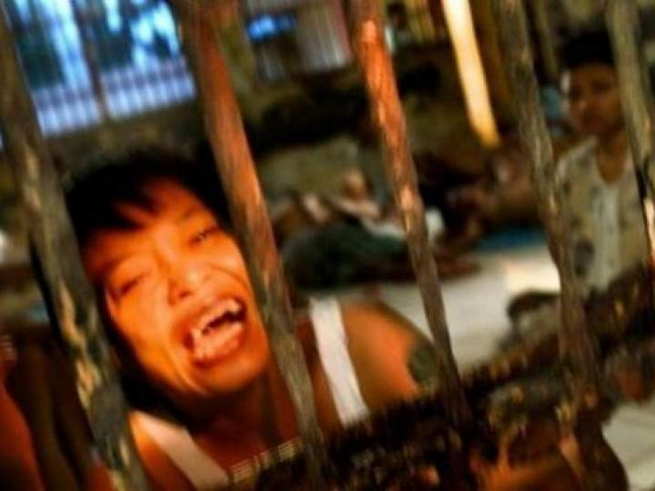 Endonezya Akıl Hastanesinden Şok Görüntüler 25