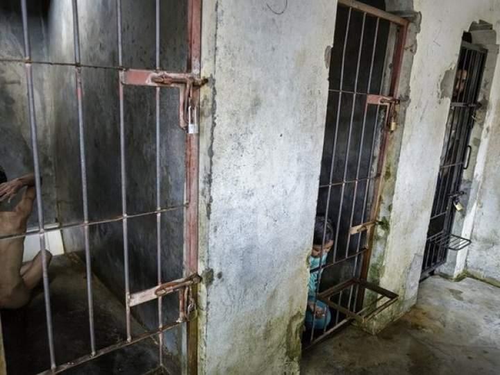 Endonezya Akıl Hastanesinden Şok Görüntüler 3