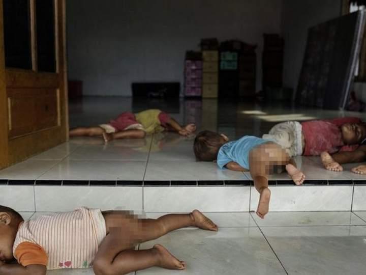 Endonezya Akıl Hastanesinden Şok Görüntüler 5