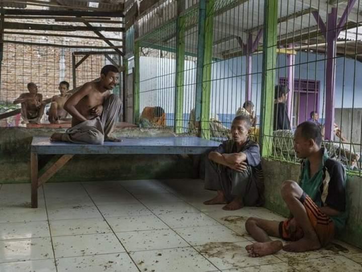 Endonezya Akıl Hastanesinden Şok Görüntüler 7