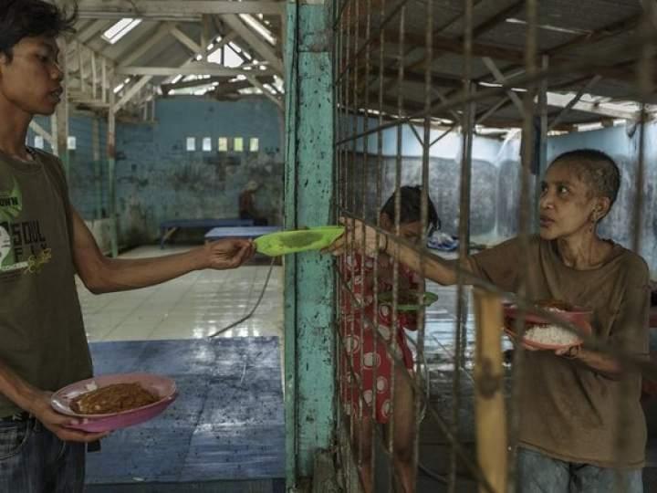 Endonezya Akıl Hastanesinden Şok Görüntüler 8