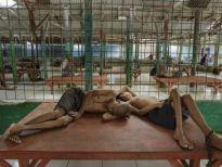 Endonezya Akıl Hastanesinden Şok Görüntüler