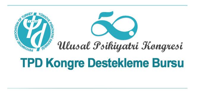 50. Ulusal Psikiyatri Kongresi - TPD Kongre Destekleme Bursu