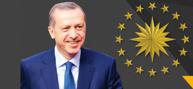 12. Cumhurbaşkanı Recep Tayyip Erdoğan oldu