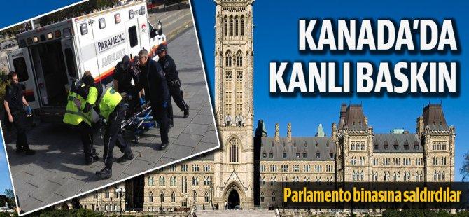 Kanada Parlamento'suna Kanlı Saldırı