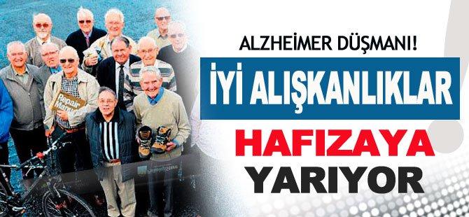 Alzheimer'ın En Büyük Düşmanı İYİ ALIŞKANLIKLAR
