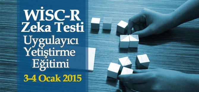Wisc-R Zeka Testi Eğitimi 2015
