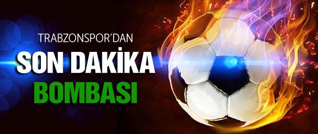 Trabzonspor'dan Son Dakika Bombası