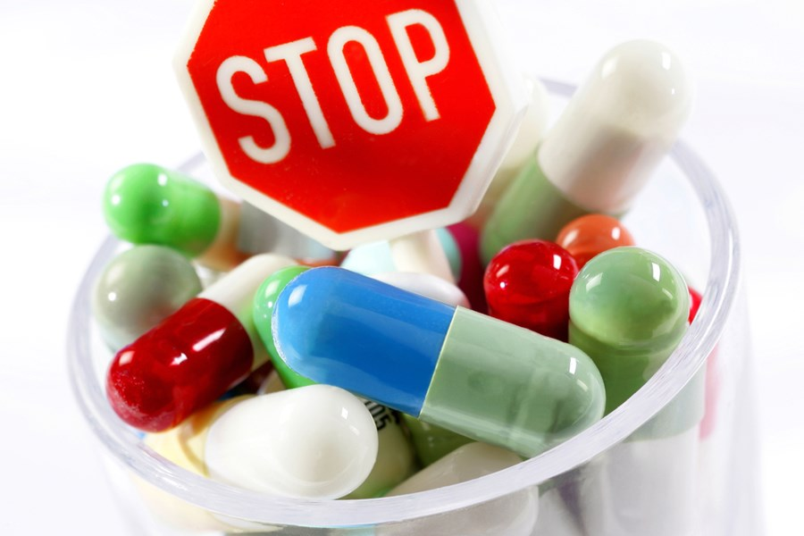 запрет на прием антибиотиков
