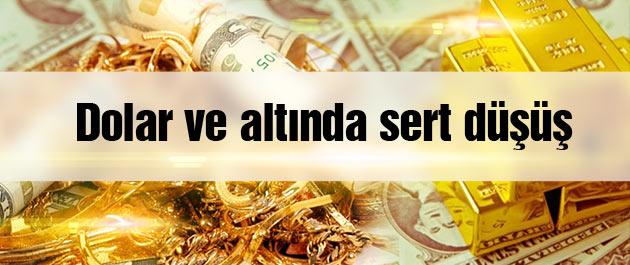 Dolar ve Altın Fiyatları Düştü!