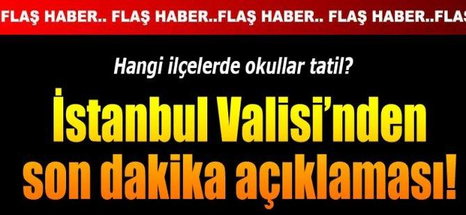 İstanbul'da ve Ankara'da 20 Şubat Cuma Günü Okullar Tatil mi?