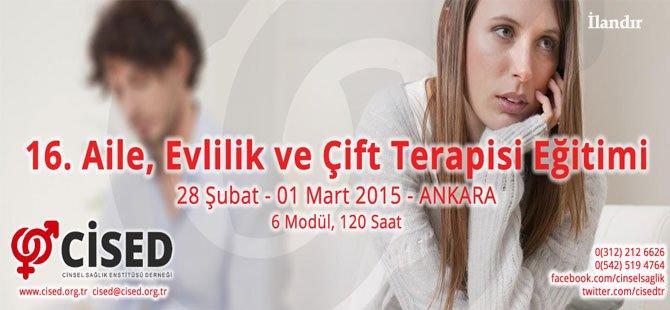 16. Evlilik ve Aile Terapisi Eğitimi