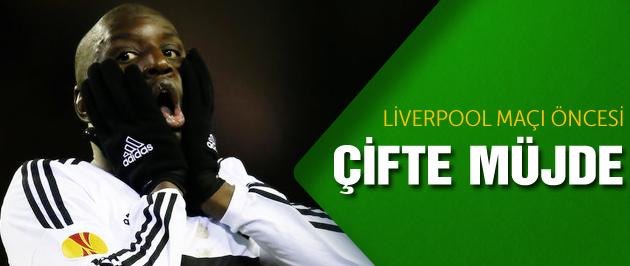 Liverpool Maçı Öncesi Çifte Müjde!