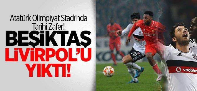 Beşiktaş  Liverpool Maçının Sonucu ve Özel Goller