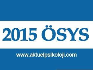 2015 YGS Sınav Giriş Belgeleri