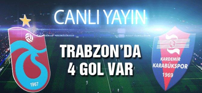 Trabzonspor - Karabükspor Maçı