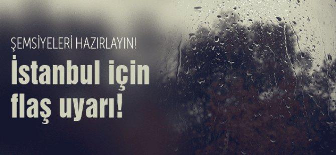 Meteroloji İstanbul İçin Uyardı!