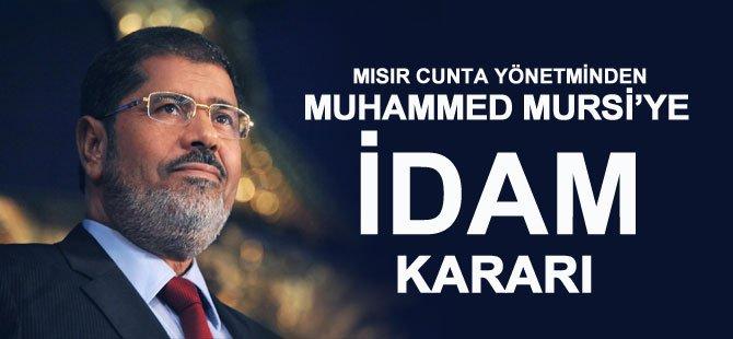 Muhammed Mursi İçin İdam Kararı
