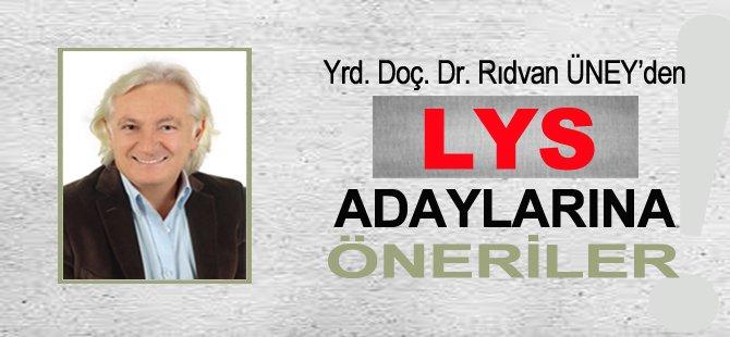 LYS Adaylarına Öneriler