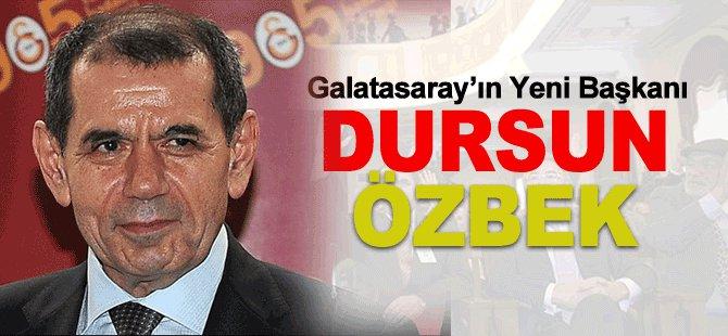 Galatasaray'ın Yeni Başkanı Dursun ÖZBEK!
