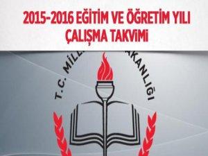 2015-2016 Eğitim Öğretim Yılı Ne Zaman Başlayacak?